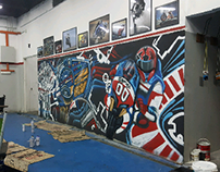 Ggarage workshop graffiti