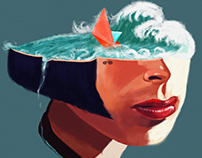 Mathilda - portrait study
