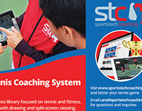 Sports Tech Coaching ~ Banner and poster design