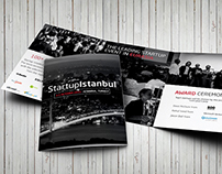 Startup Istanbul Brochure Design