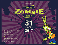 Zombie Party | Modern and Creative Templates Suite