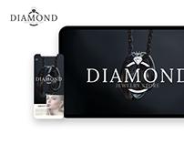 Jewelry Store / design of website