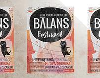 Poster design Balans Festival