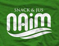 Branding NAiM snack & jus