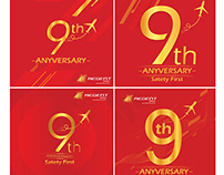 9 Year Anniversary Social Media