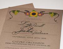 Sisters Wedding Invites