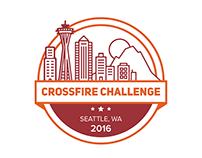 Crossfire Challenge Logo Design