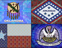Texas, Oklahoma, Arkansas, Louisiana: The Four States