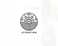 Attantion - Brand Identity & Style Guide Design
