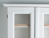 Wooden Medicine Cabinet