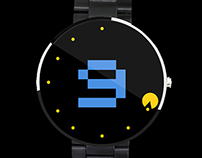 Pacman Watch Concept