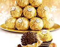 Ferrero Rocher. NY ad concepts