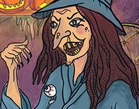 A  Spooctacular Halloween Feast