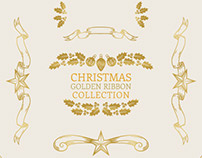 Ribbons, ornaments and decorative vector assets