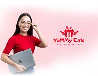 YuMMy Eats logo design | brand identity