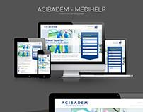 Acibadem - Medihelp - Responsive Landing Page