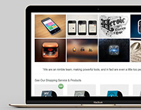 MacBook View - Edge WordPress Theme