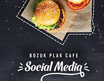 Bozuk Plak Cafe Social Media