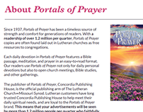Portals of Prayer Media Kit