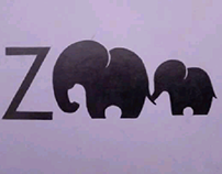 ZOO logo, drawn