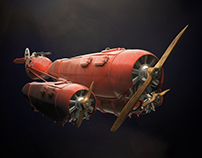Red Baron's Podracer