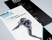Freelance Project - SAS Danse classic brochure