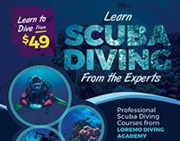 Scuba Diving Flyer Templates