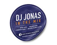 Grafikdesign / Aufkleber DJ Jonas