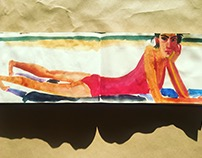 summer sketchbook