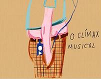 Ilustração clímax musical