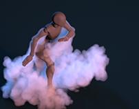 Dancer Smoke/Fire/Hair