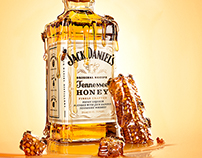 Jack Daniel's Tennessee Honey Conceptual Work