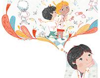 Ilustraciones en Libro Escolar ● Illustrations