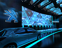 PEUGEOT 3008 launching event @ up town Cairo Cl u house