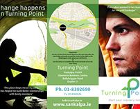 Various leaflets for Irish organization