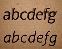 "Typography Design/ Free Font ""CÍCERO"""