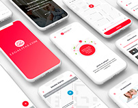 Legal app UI/UX Design