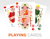 Playing Cards - Concept God x Joel