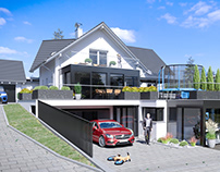 Single family house extension in Karsau - Germany