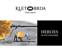 KLET BRDA wine cellar | IDENTITIY CONCEPT, LOGO DESIGN
