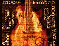 Guitarra café bamboo