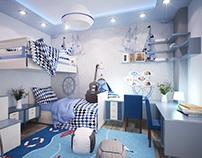 Mr. Wael Samir Apartment Design