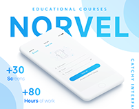 Norvel IOS App - Educational Courses