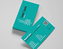 "Visiting Card for ""Falek Tayeb"""