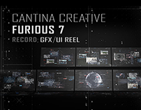 FURIOUS 7 - GFX/UI DESIGN