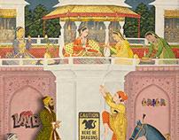 Laila (Layla) and Majnun