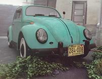 Volkswagen Beetle Octane Render