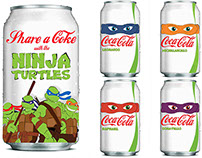 Ninja Turtle Coke Can