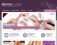 Dermalounge Website Design