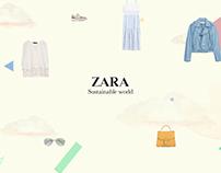 2021 Zara Retail Experience // UX Design
